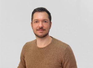 Portrait Mann mit Dreitagebart
