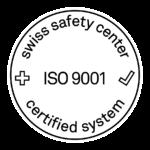 Zertifikats Zeichen ISO 9001